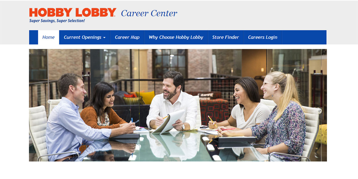 Home Hobby Lobby Career Center