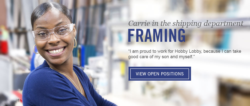 Carrie in Framing