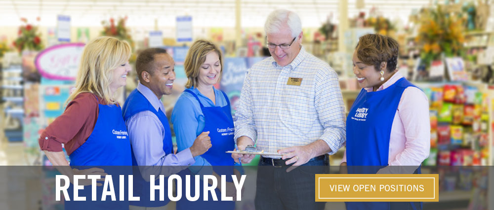 Retail Hourly - View Open Positions