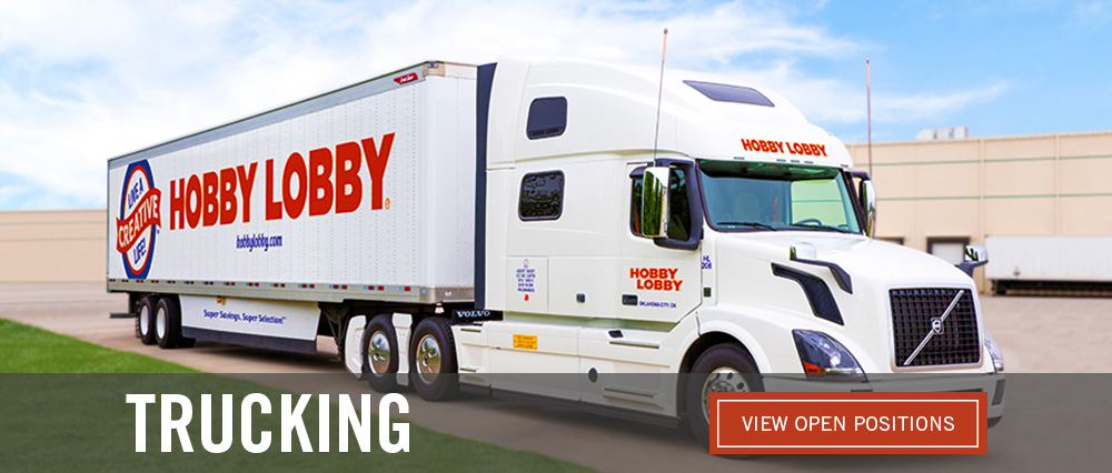 Trucking - View Open Positions